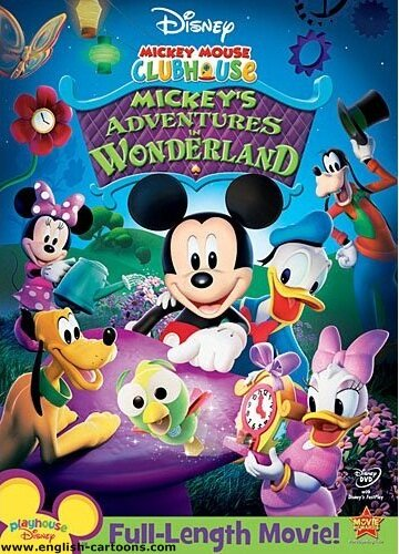 """Mickey Mouse Clubhouse: Mickey's Adventures in Wonderland"" - ""Микки в стране Чудес"""