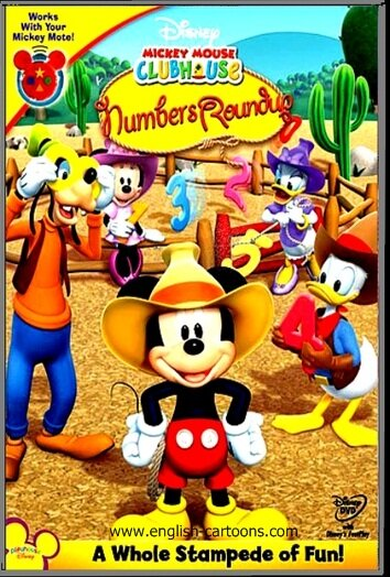 """Mickey Mouse Clubhouse: Numbers Roundup"" - ""Страна цифр"""