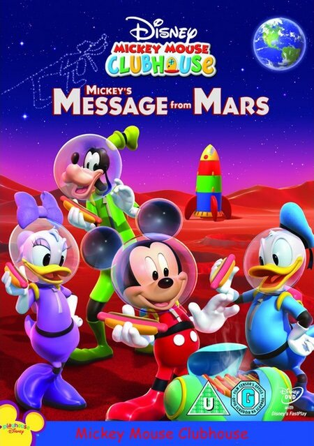 """Mickey Mouse Clubhouse: Mickey's Message from Mars"" - ""Послание Микки с Марса"""