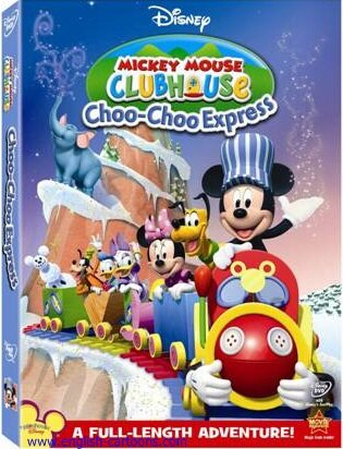 """Mickey Mouse Clubhouse: Choo-Choo Express"" - ""Паровозик Микки"""