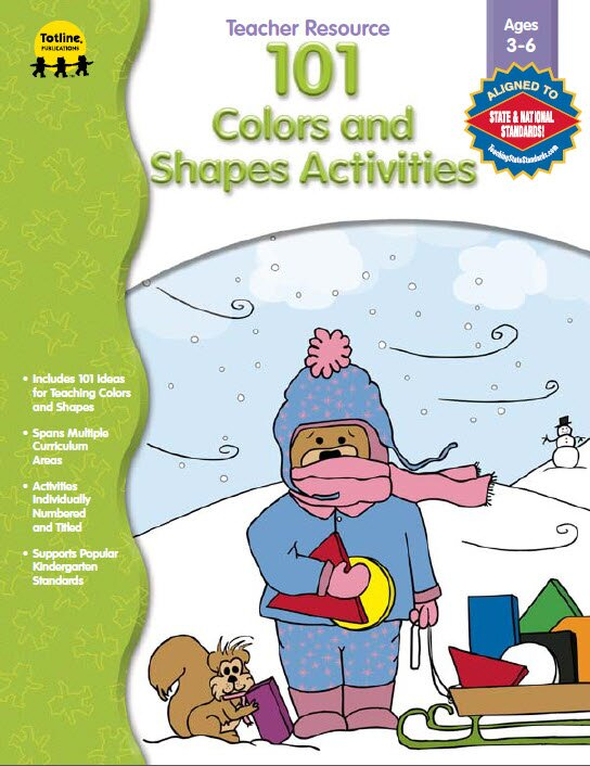 101 Colors and Shapes Activities