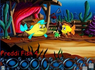 Freddi Fish 4: The Case of The Hogfish Rustlers of Briny Gulch - Рыбка Фредди 4: Дело о пропавших рыбо-свинках