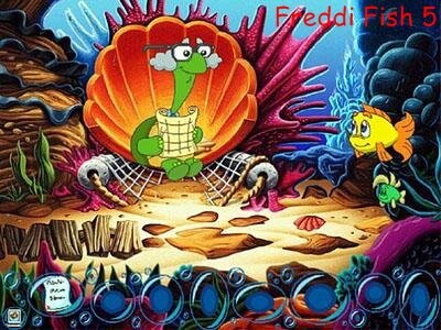 Freddi Fish 5: The Creature of Coral Cove - Рыбка Фредди 5: Дело о чудовище из Коралловой Бухты